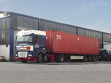 Seecontainertransporte